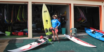 Great Windsurfing and Kayaking!